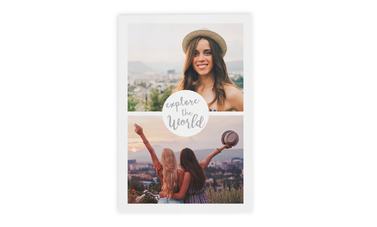 Instant prints with design