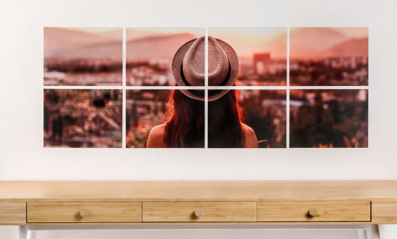 Instant Prints multi-part photos